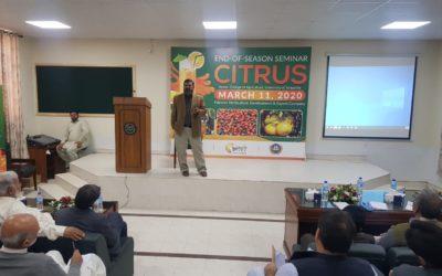 Citrus Post Season Seminar, March 2020